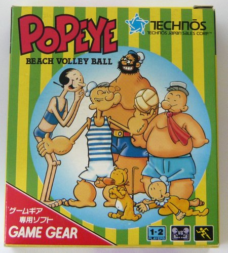 Popeye: Beach Volley Ball (jap.), wertvoll