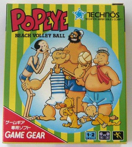Popeye: Beach Volley Ball (jap.), wertvoll