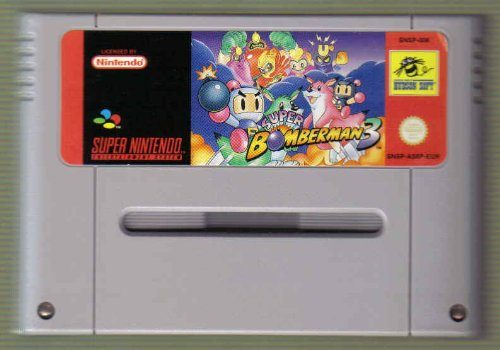 Super Bomberman 3 (PAL), seltenes SNES Videospiel