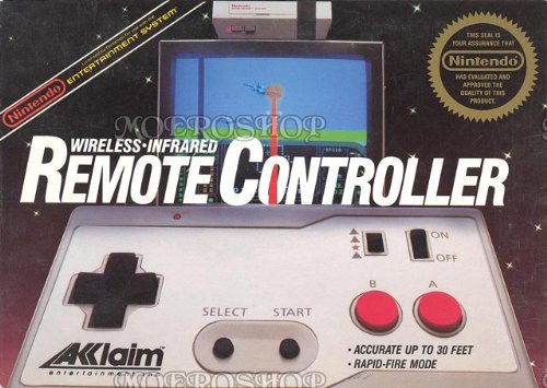 Nintendo Acclaim wireless-infrared remote controller, sehr selten