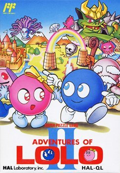 Adventures of Lolo 2, sehr seltenes NES-Spiel