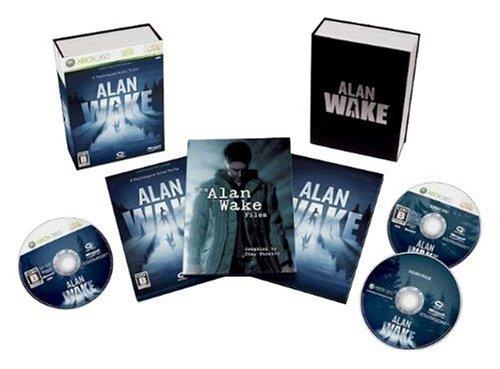Alan Wake – limitierte Edition (jap.), sehr selten und wertvoll für X-Box 360
