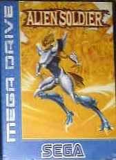 Alien Soldier, rares Mega Drive Videospiel