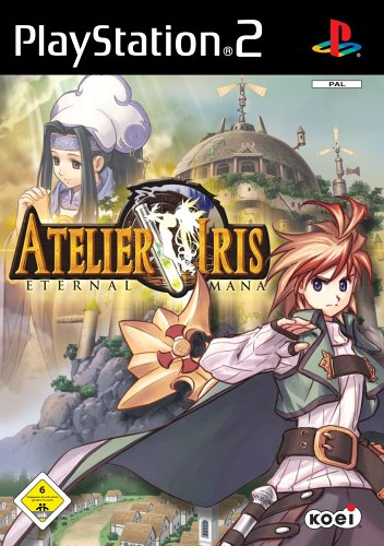 Atelier Iris – Eternal Mana (PAL), rares Playstation 2 Spiel