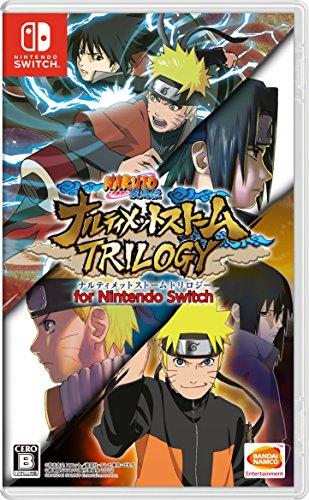 Bandai Namco Naruto Shippuden Ultimate Ninja Storm Trilogy (jap.), Nintendo Switch