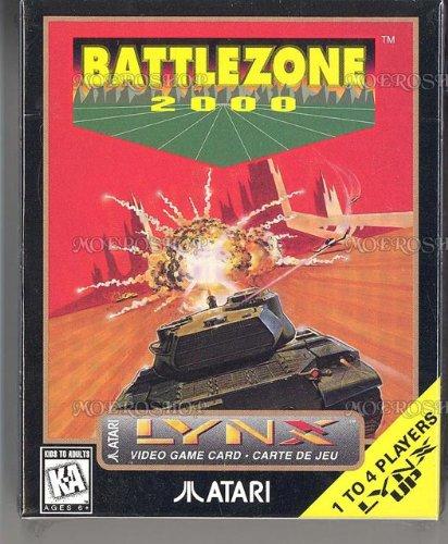 Battlezone 2000 - Lynx, rares Spiel für Atari Lynx