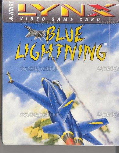 Blue lightning, seltenes Atari Lynx-Spiel