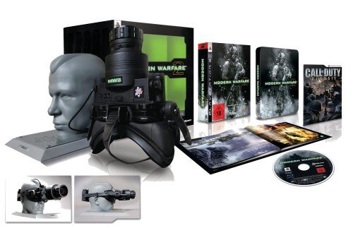 Call of Duty: Modern Warfare 2 – Prestige Collector's Edition, sehr wertvolles Sammlerstück für die X-Box 360