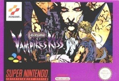 Castlevania - Vampires Kiss (PAL), teures Super Nintendo Videospiel