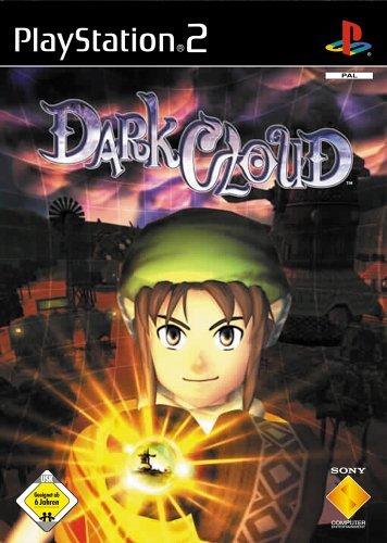 Dark Cloud, sehr rares Videospiel für Sony Playstation 2