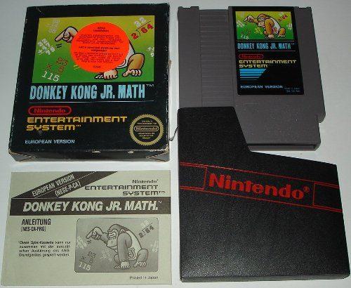 Donkey Kong Jr. Math, Rarität für den NES