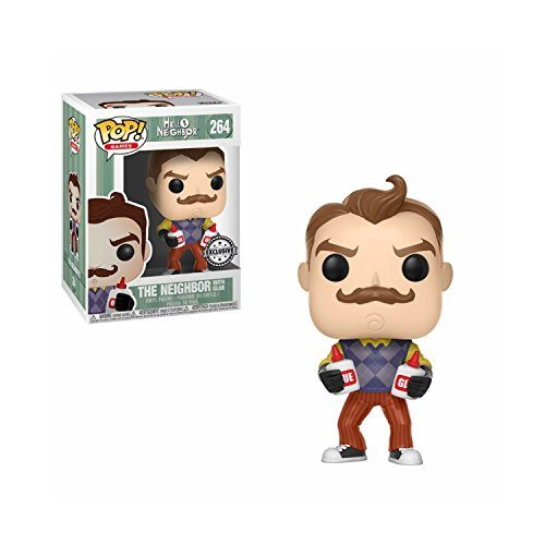 Funko POP! Hello Neighbor mit Glue / Klebstoff Exclusive