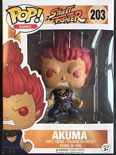 Funko POP! Games: Street Fighter Akuma