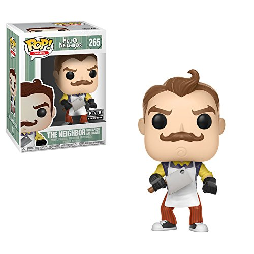 FunkoPop! –Hello Neighbor - Apron And Meat Cleaver