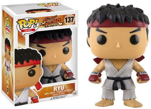 Funko POP! Vinylfigur Street Fighter Ryu