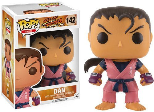 Funko POP! Vinylfigur: Street Fighter: Dan