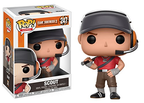 Funko Pop! Games: Team Fortress 2 Scout