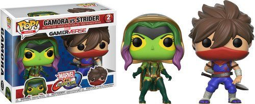 Marvel vs. Capcom Infinite Gamora vs. Strider Pop! Games Vinyl Figur Set Pop. Vinyl 2er Pack Gamora VS Strider