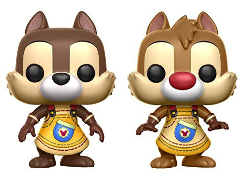 Funko Pop. Vinyl 2er Pack Kingdom Hearts Chip & Dale / Chip & Chap
