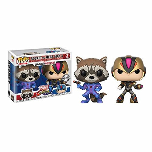 Marvel Vs Capcom - 2-Pack Rocket Vs Mega Man / Megaman X Exclusiv Pop