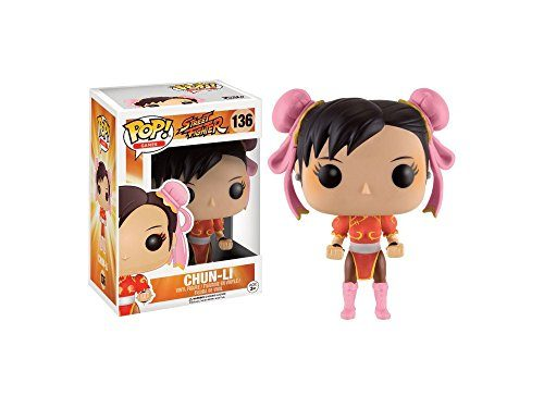 Funko POP! Games: Street Fighter Chun-Li (rot / red )
