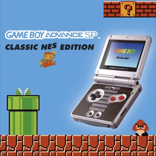 Game Boy Advance SP - Classic NES Edition, sehr seltener Game Boy von Nintendo