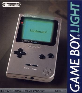 Game Boy Light in den Farben silber und gold – Japan, sehr wertvoll GB