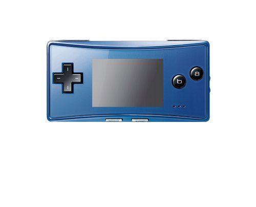 Game Boy Micro - Konsole in blau, sehr wertvoll