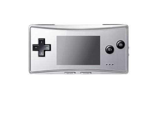 Game Boy Micro - Konsole in silber, sehr wertvoll