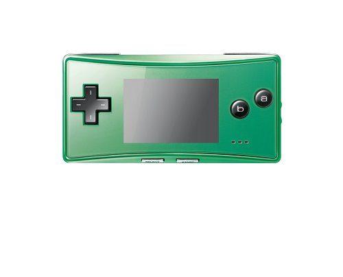 Game Boy Micro - Konsole in grün, sehr rar Nintendo Game Boy