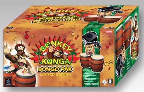 Donkey Konga Bongo Pak – Limited Edition, sehr seltenes Pack für Gamecube