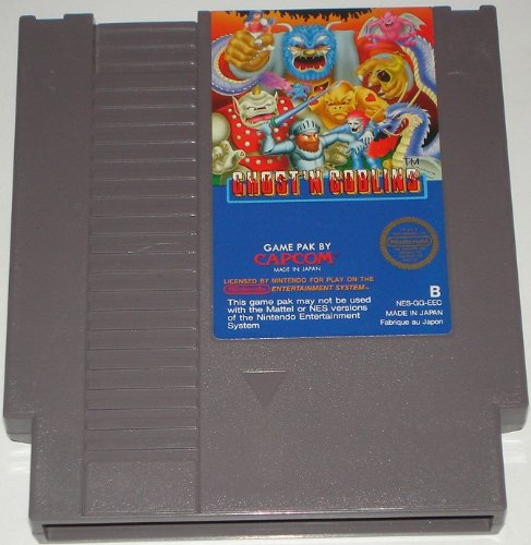 Ghost'n Goblins, wertvolles NES- Videospiel