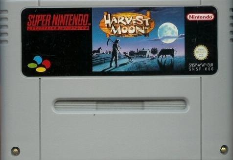 Harvest Moon, seltenes Super Nintendo Spiel
