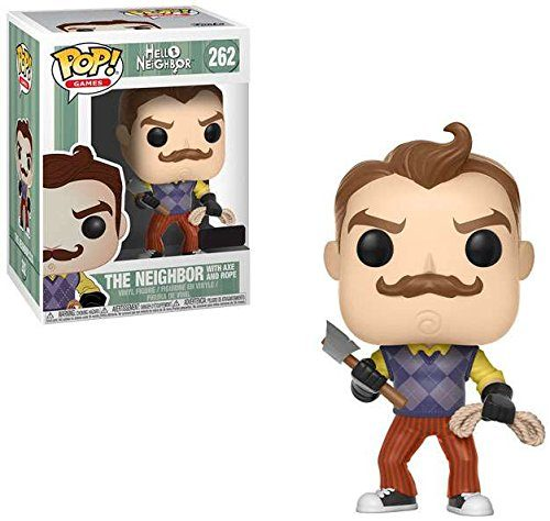 Hello Neighbor - Axt POP! Games Vinyl Figure Neighbor with Axe & Rope 9 cm Funko Mini