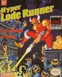 Hyper Lode Runner, sehr seltenes Game Boy Spiel
