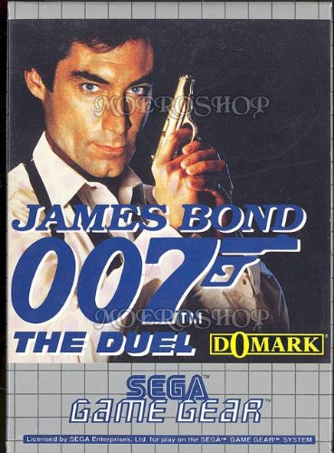 James Bond 007 - The Duel (PAL), wertvolles Game Gear Spiel