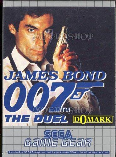 James Bond 007 - The Duel (PAL), wertvolles Game Gear Spiel