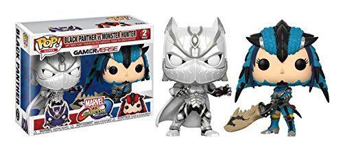 Marvel vs. Capcom Infinite POP! Games Vinyl Figure 2-Pack Black Panther vs. Monster Hunter
