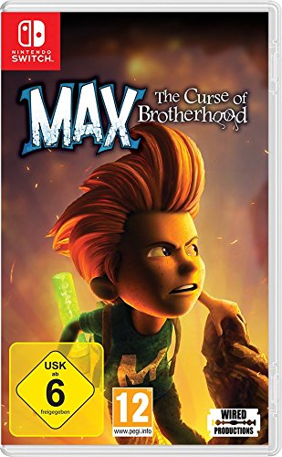 Max - The Curse of Brotherhood Standard [Nintendo Switch]