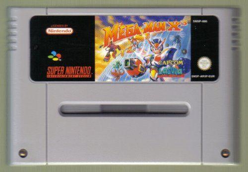 Mega Man X3, sehr seltenes Spiel für SNES