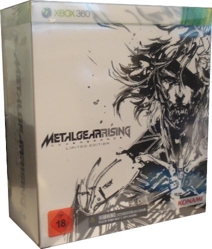 Metal Gear Rising Revengeance - Limited Edition - Xbox 360 - Deutsche Version, wertvoll und teure limitierte Edition für XBox 360