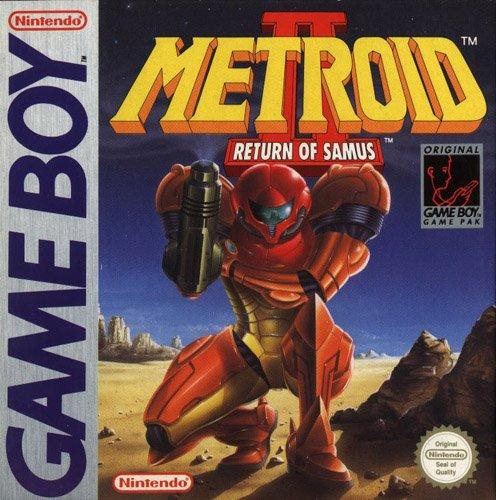 Metroid 2 – Return of Samus, sehr wertvolles Game Boy Spiel