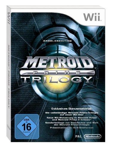 Metroid Prime Trilogy auf einer Disc, teures Nintendo Wii-Videospiel