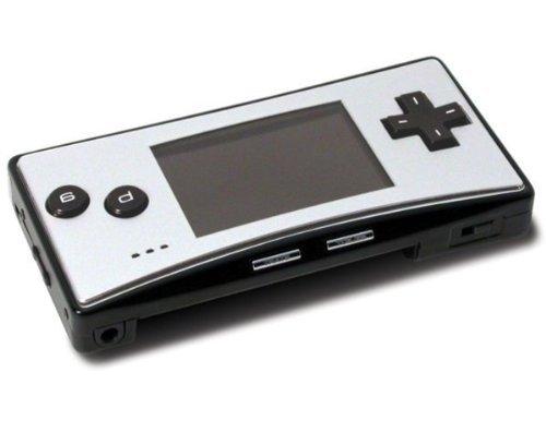 Nintendo Game Boy Micro in schwarz/silber, seh teuer und wertvoll