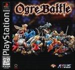 Ogre Battle, wertvolles Playstation 1- Spiel