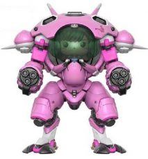"Overwatch D.VA mit Meka Funko Pop! Games Vinyl Figur 6"" Super Size Mech and 1.75"" D.VA double pack"