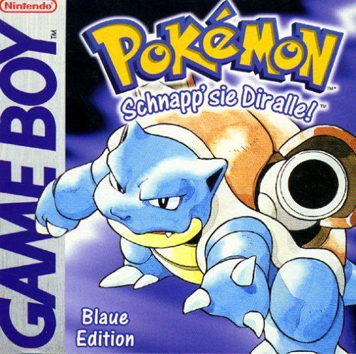 Pokémon - Blaue Edition, sehr seltenes Videospiel