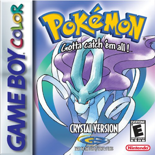 Pokémon Crystal, seltenes Game Boy Color Spiel