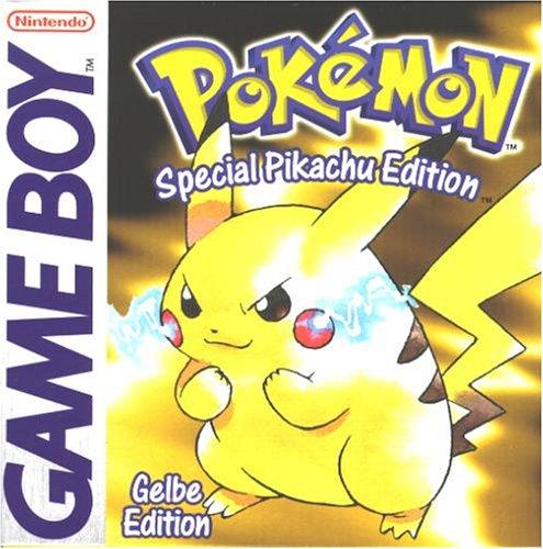 Pokémon - Gelbe Edition, rares Game Boy Spiel