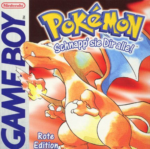 Pokémon - Rote Edition, seltenes Game Boy-Modul
